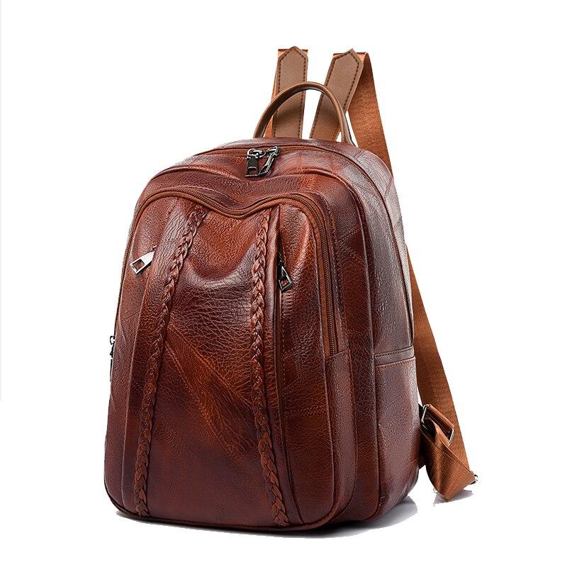Винтажный женский рюкзак, новинка 2020, модная сумка для отдыха, модный рюкзак на плечо, женский рюкзак, рюкзак для женщин