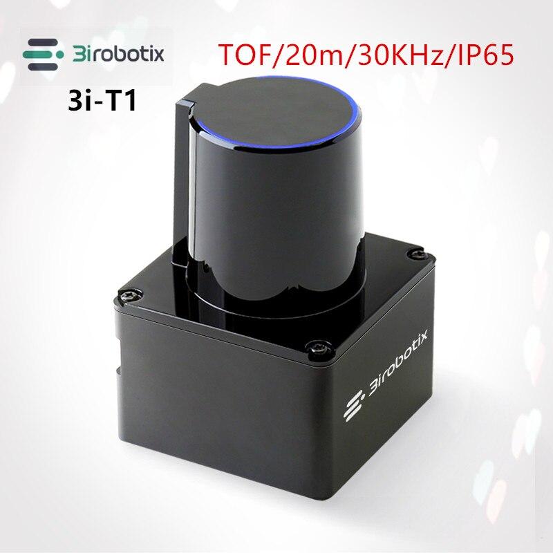 Sensor de Planejamento de Caminho Interação de Tela Tof ao ar Lidar Variando Sensor Livre Evitar Obstáculos Grande 20m 3irobotix