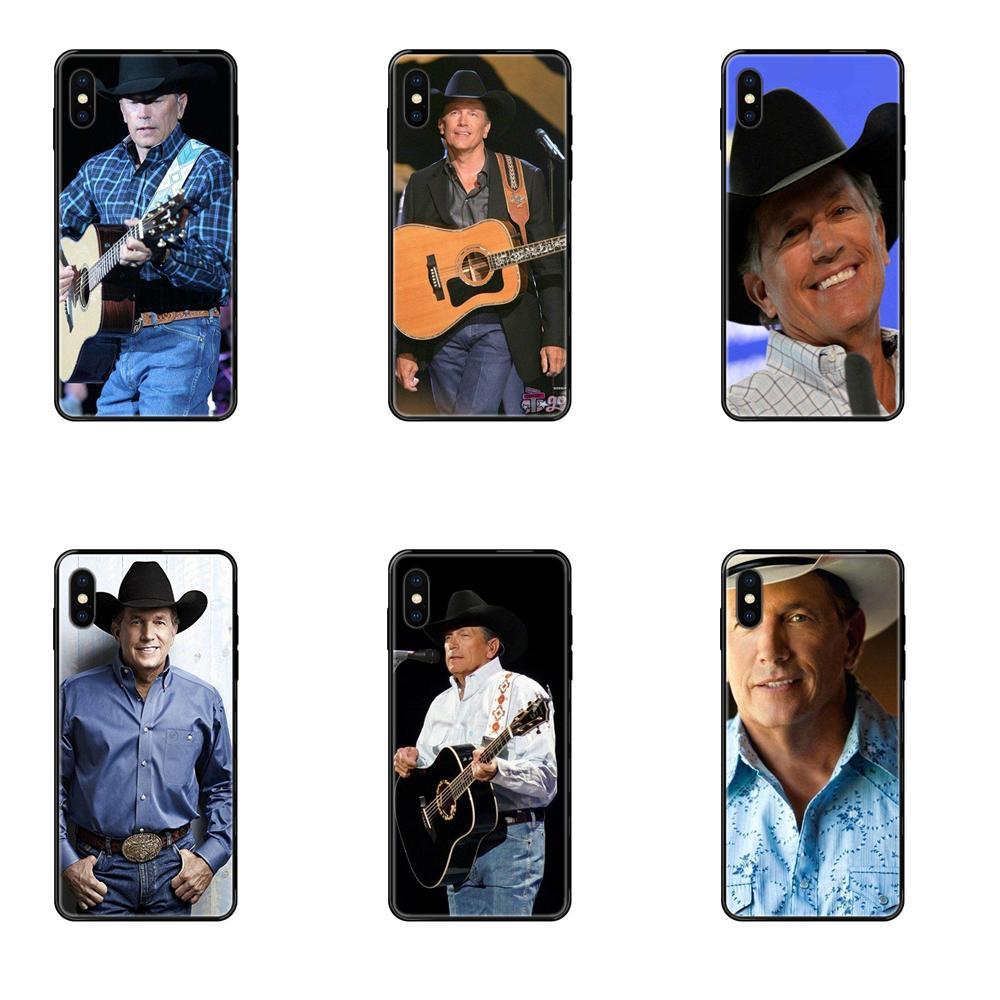 George Harvey Strait American Music Colorful Phone Accessories Case For Xiaomi Mi Note A1 A2 A3 5 5s 6 8 9 10 SE Lite Pro Ultra