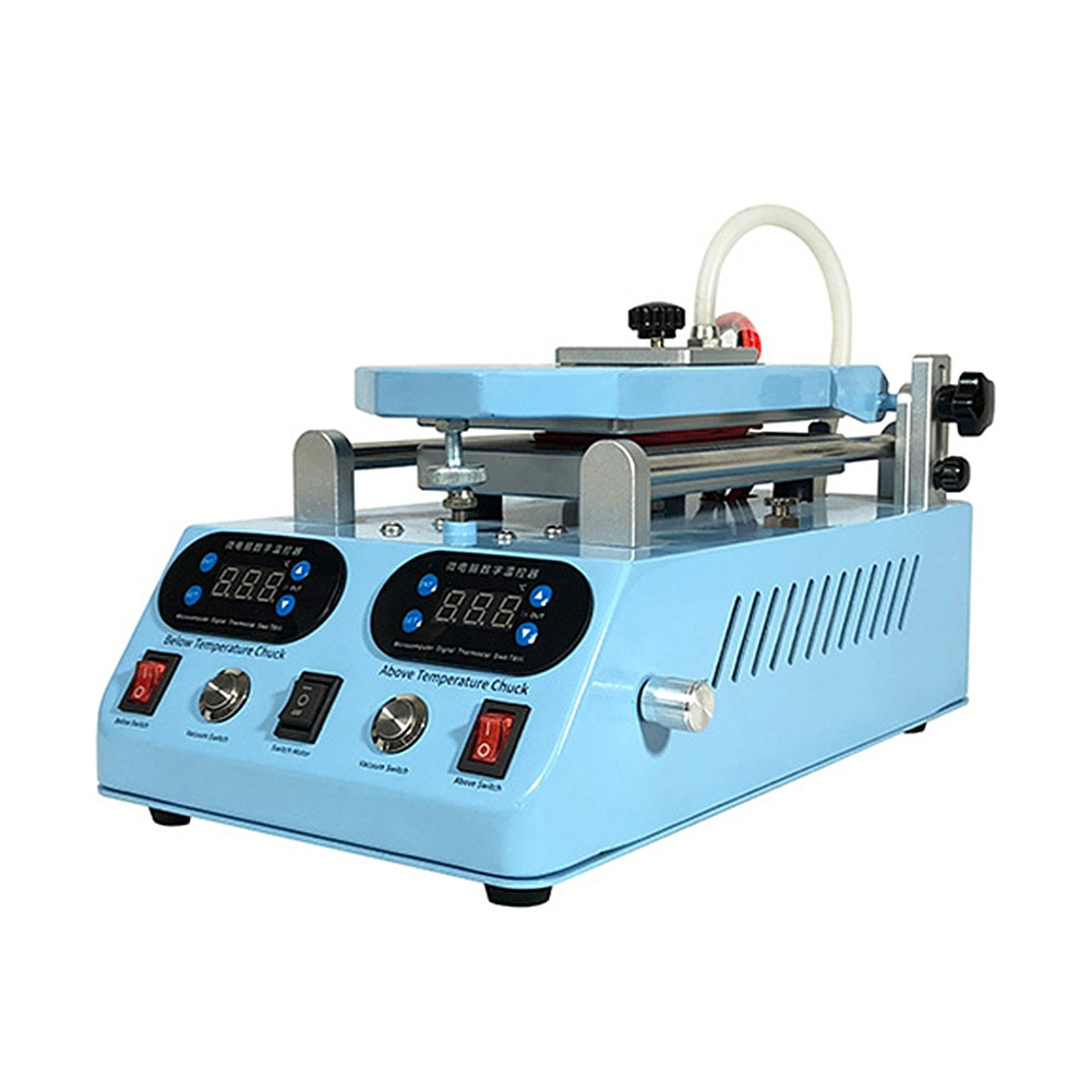 400W 220V Separator Machine Automatic LCD Screen Frame Bezel Heating For Flat Curved Screen Glass Middle Frame Separate