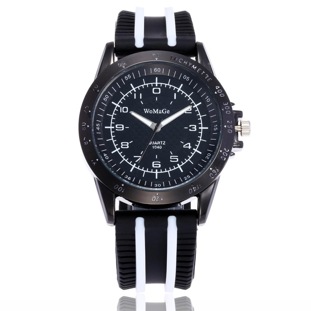 Reloj para hombre, reloj de cuarzo redondo Tend, correa de silicona deportiva Naviforce, relojes de moda para hombres, reloj de moda 2019 zegarek silikonowy zegarek meski
