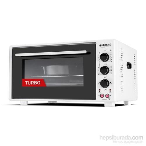 İtimat Timerli Thermostat Oven Turbo Fan 40 L White