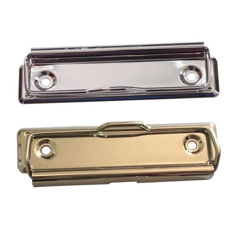 Grampos de placa de transferência de metal mountable primavera carregado superfície montagem punho com pés de borracha hardboard grampos saco acessório de ferragem