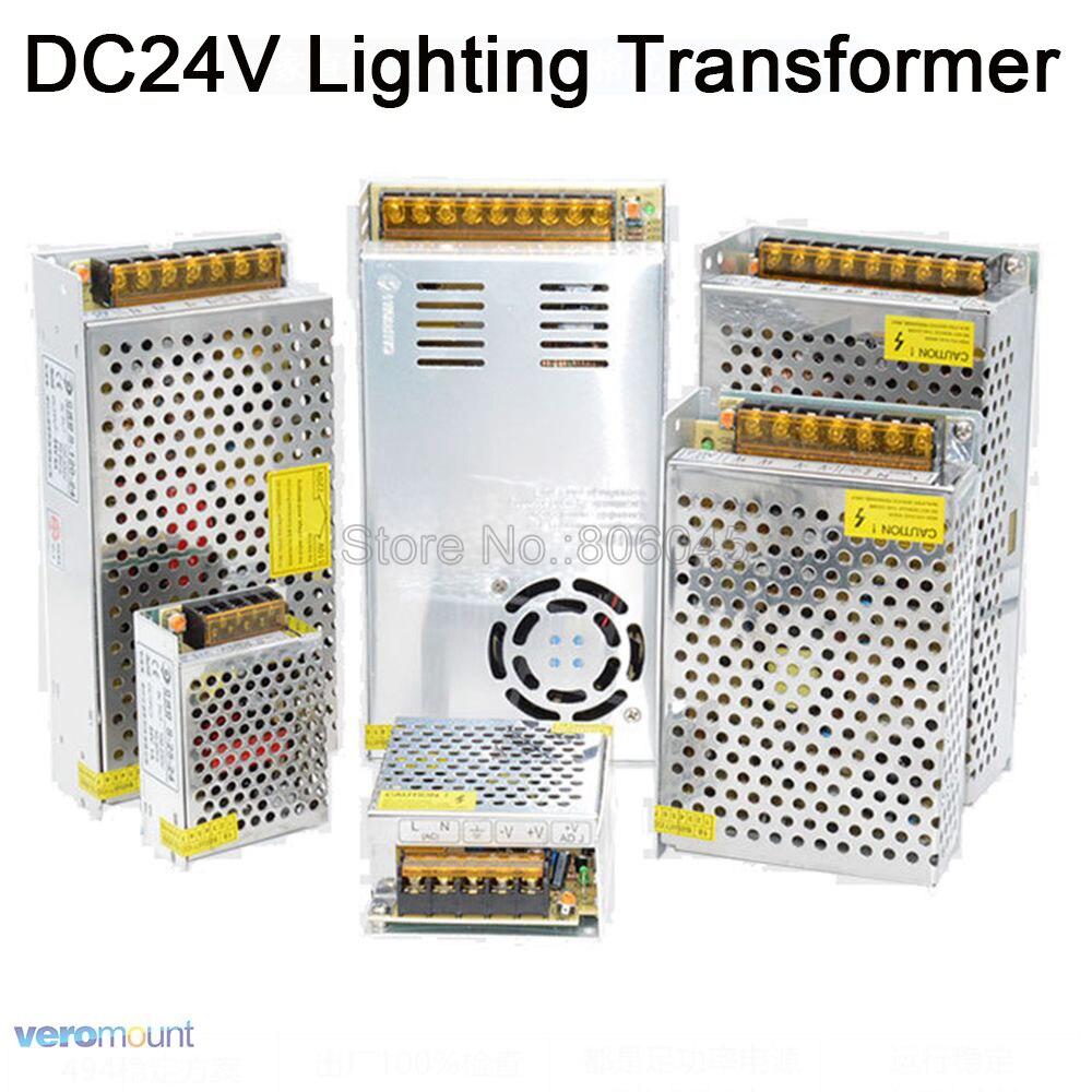 24V transformador de AC110V 220V a DC24V 1A 2A 3A 5A 6.5A 8.5A 10A 15A 16.5A 21A 30A convertidor de potencia de fuente de alimentación de conmutación