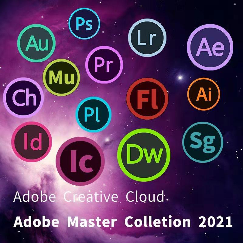 Adobe Creative Cloud все приложения 2021 выпуска для Windows/Mac Компьютерные кабели и разъемы      АлиЭкспресс