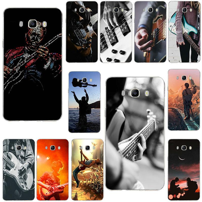 Love Guitar Guitarist Musical Soft Cases For Samsung Galaxy Note 2 3 4 5 8 9 10 A10 A20 A30 A40 A50 A60 A70 A80 A90 Pro