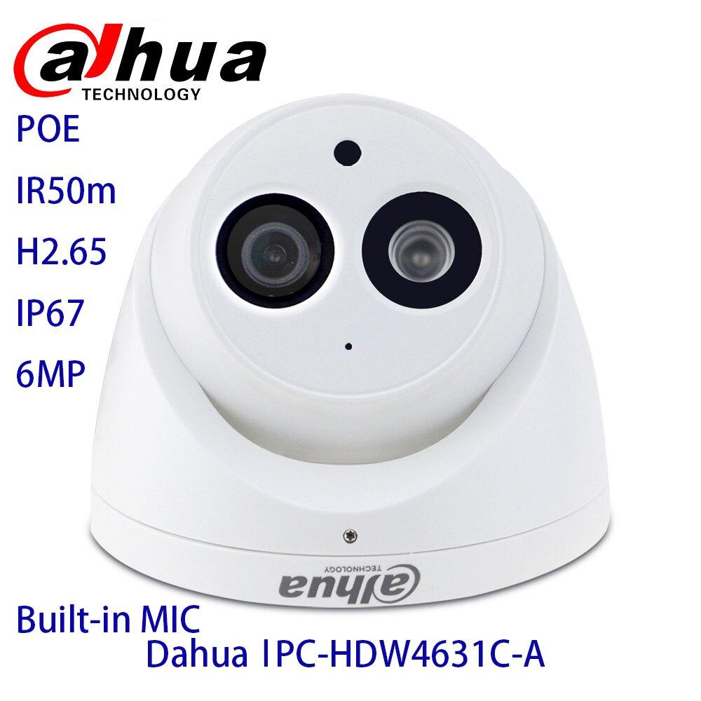 Dahua IPC-HDW4433C-A 4631C-A IR30m Starlight Built-in Mic Network PoE Onvif Replace IPC-HDW4431C-A  IP AI Security Cameras dahua ip camera ipc hdw4433c a 4mp network ip camera onvif built in mic poe 4433c a 4431c a home security cctv h 265 ipc camera