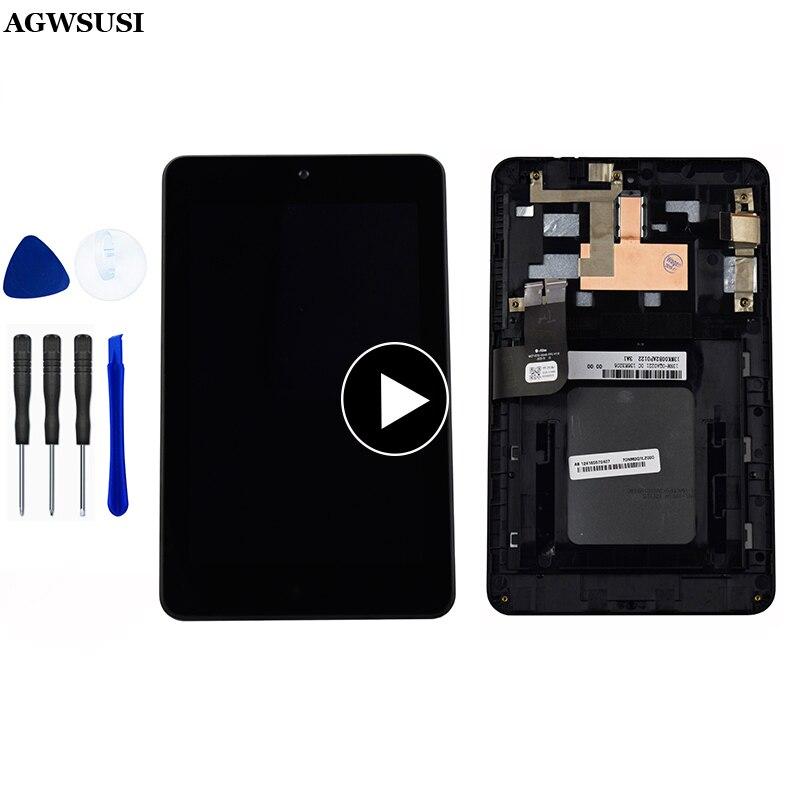 Pantalla LCD para Asus MeMO Pad HD7 ME173 ME173X K00B, marco de...