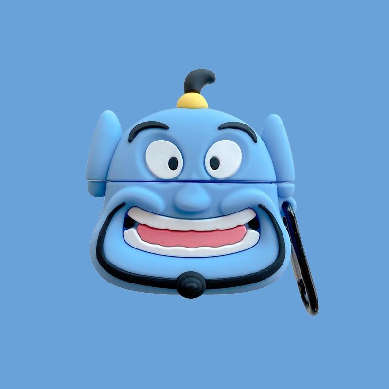 Funda de dibujos animados de Disney para Airpods, funda protectora de silicona...