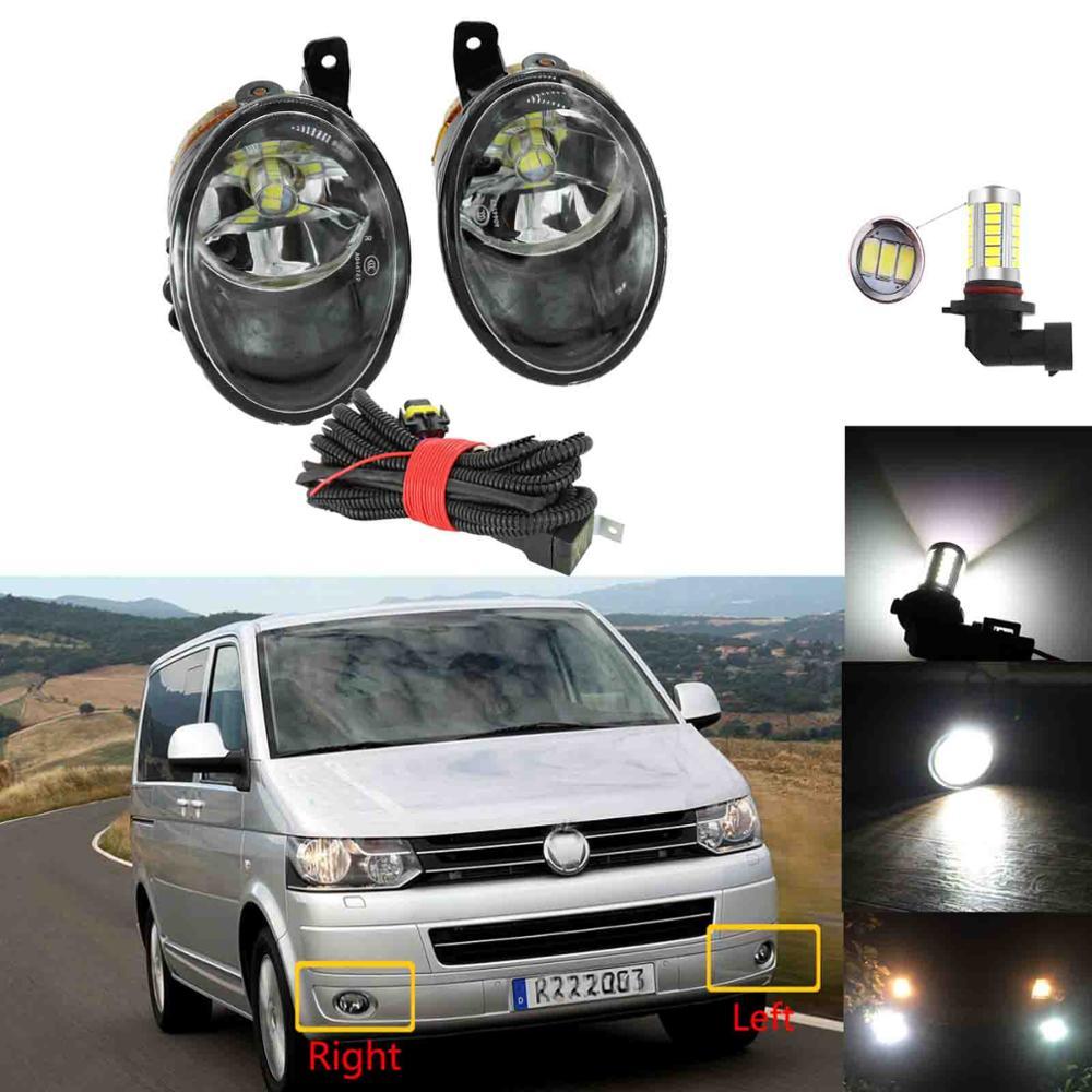 Para VW Transporter Multivan T5 Facelift Before T6 2010 2011 2012 2013 2014 2015 luz antiniebla LED
