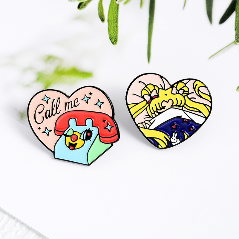 Mezcla de dibujos animados lindo esmalte Pins Drama animación órgano moda broche insignia accesorios para bolso sombreros mochila ropa regalo Juguetes