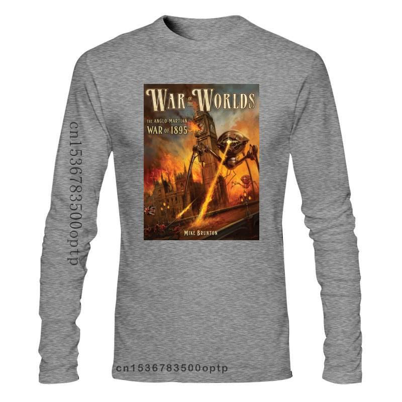 New War Of The Worlds Movie Mens Funny Tshirt Japanese Streetwear Tee Shirt Gym T-Shirt Custom T-Shirts Mens Fashion Clothing