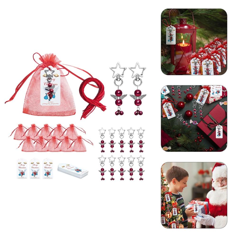 20 Sets Xmas Goody Bags Christmas Holiday Treats Bags Christmas Party Supplies