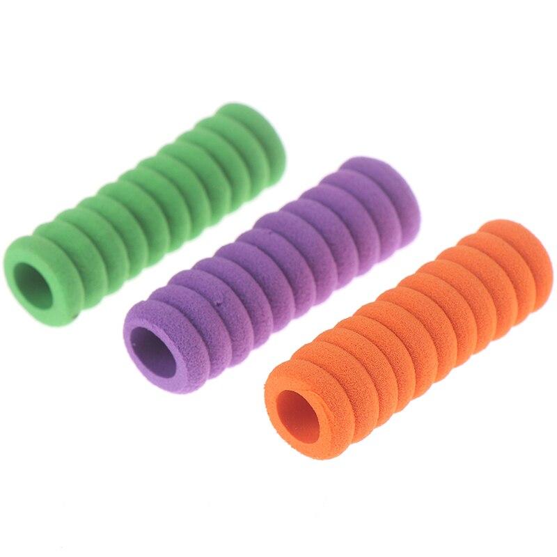 10pcs Comfort Soft Foam Pen Pencil Grips Pen Control Pupil Handwriting Aid Kids Children School Stationery