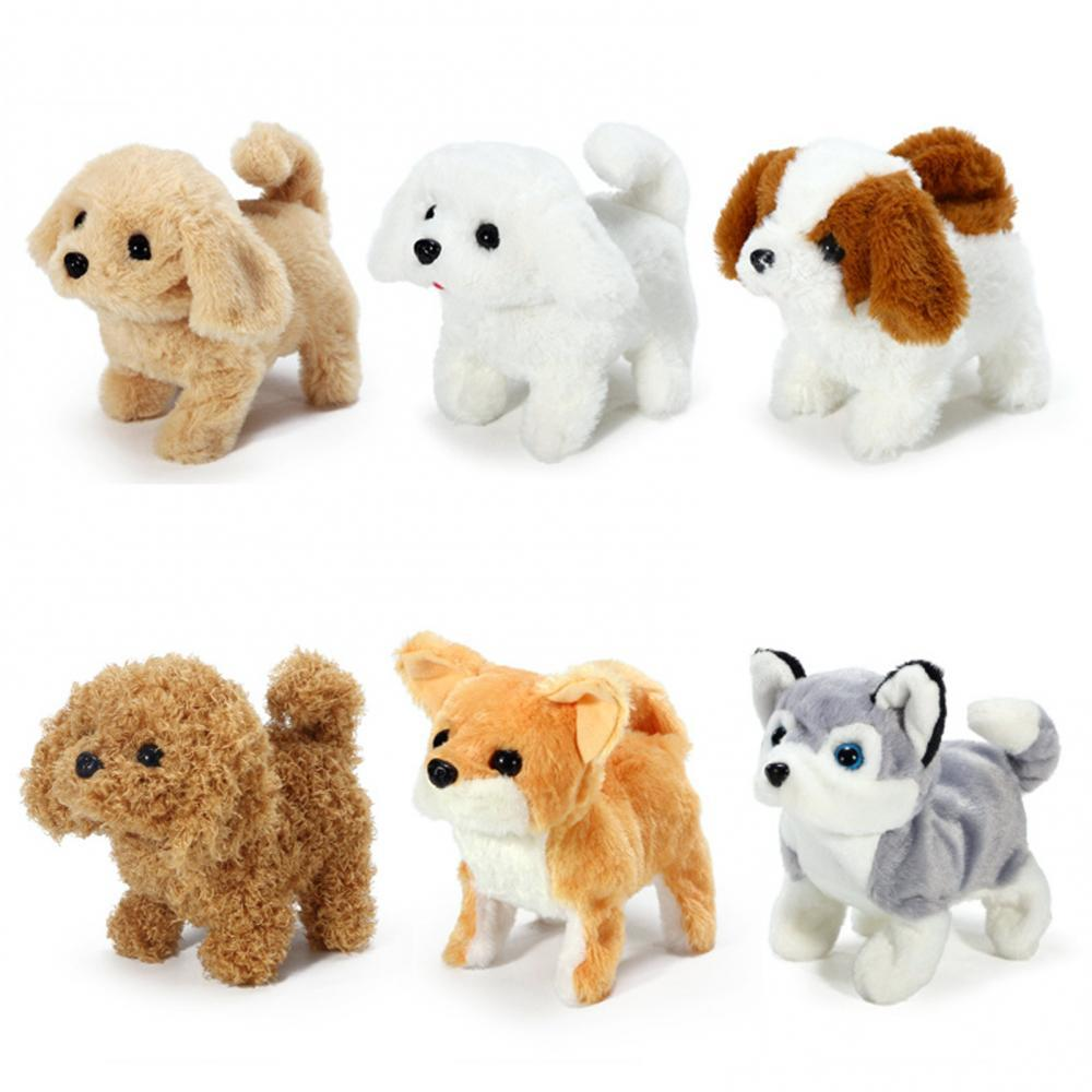 Детский плюшевый лай-Ретривер, щенок, Электронная Интерактивная имитация домашних животных, собака, игрушка плюшевая кукла в подарок