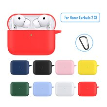 Soft Silicone Cases For Huawei Honor Earbuds 2 Lite Protective Wireless Earphone Cover For Honor Ear
