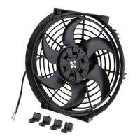 Car Truck Trailer 10 Inch 6 12V 80W Electric Radiator Cooling Fans