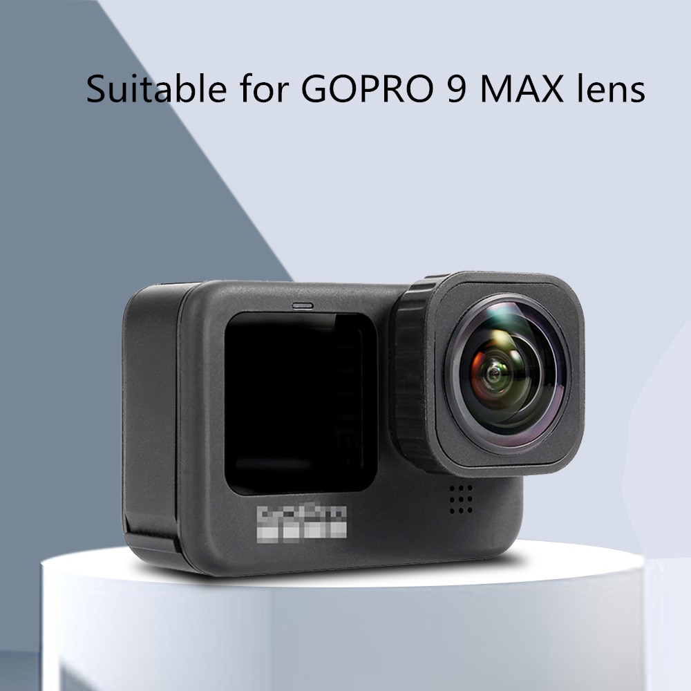 HERO 9 Ultra Wide Angle 155 Degree Replacement Lens Cap For Gopro 9 Action Camera Accessories Improve The Depth Of Field