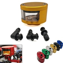 Universal Motorcycle Brake Clutch Tank Cylinder Fluid Oil Reservoir Cup For Honda cbf 600 600f cbr 600 f 650f 900 rr 250 r 500r
