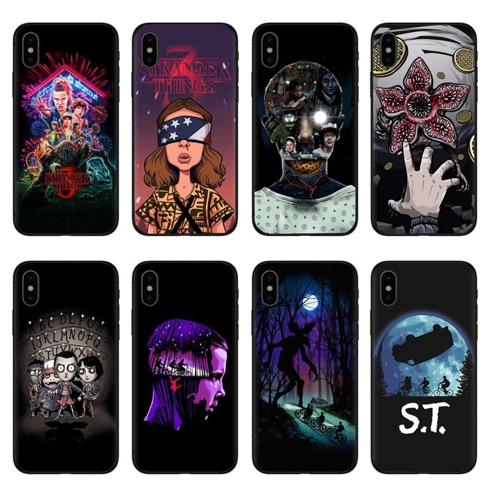 Stranger Things Season 3 DEMOGORGON HUNTER Soft silicone Phone Case For iphone X 5S 5 SE 6 6s Plus 7 7 Plus 8 8 plus XS Max XR