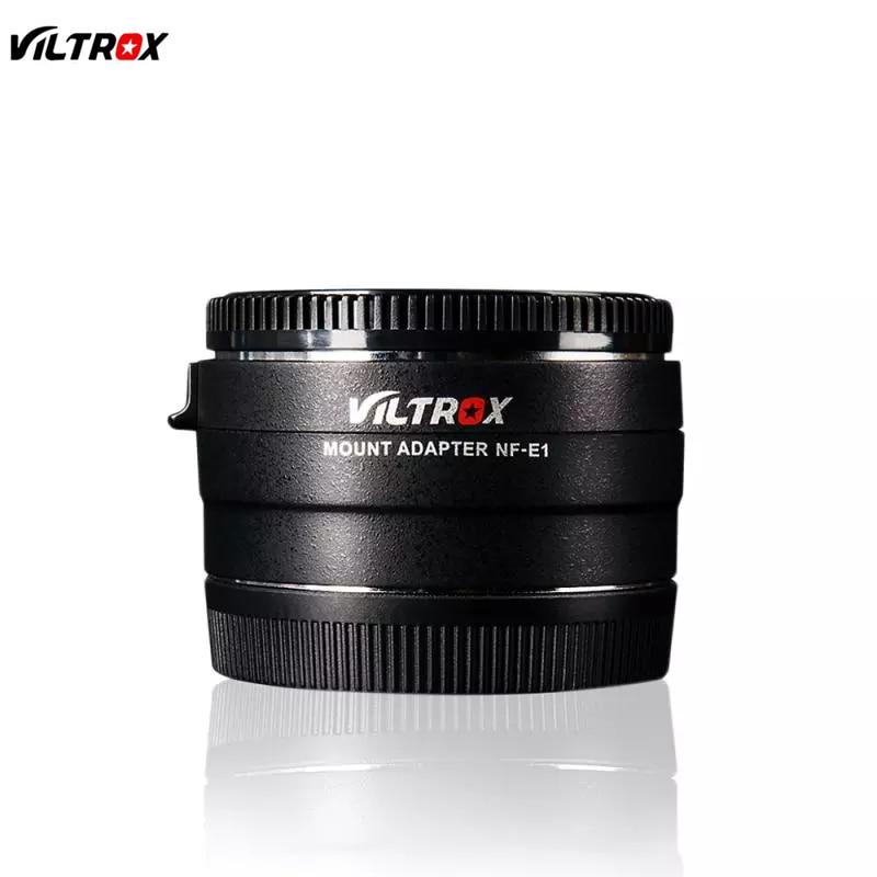 VILTROX NF-E1 Auto Fokus Objektiv Adapter Blende Control für Nikon F Objektiv Sony E mount A7SII A7II A7RIII A6500 a9 A7II A7RIII