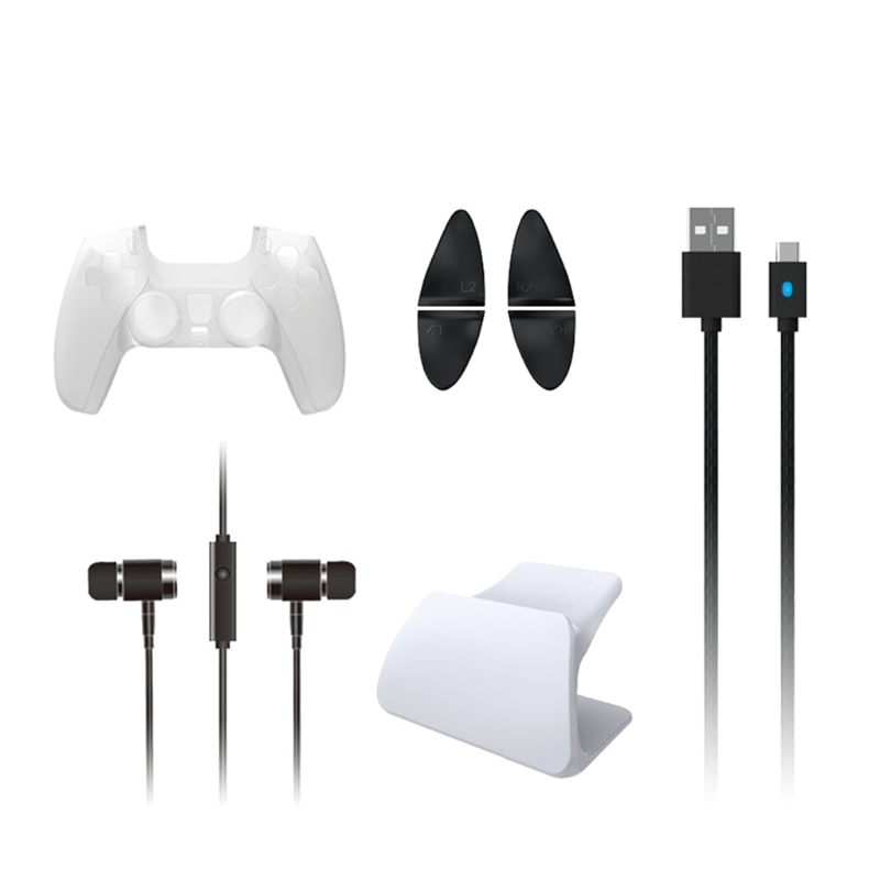 For -PS5 handle 8-in-1 set handle protective cover, trigger button