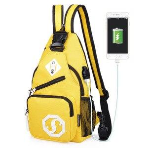 New Women Dual Purpose Crossbody Bags Women's Anti Theft Chest Bag School Summer Short Trip Messengers Bag