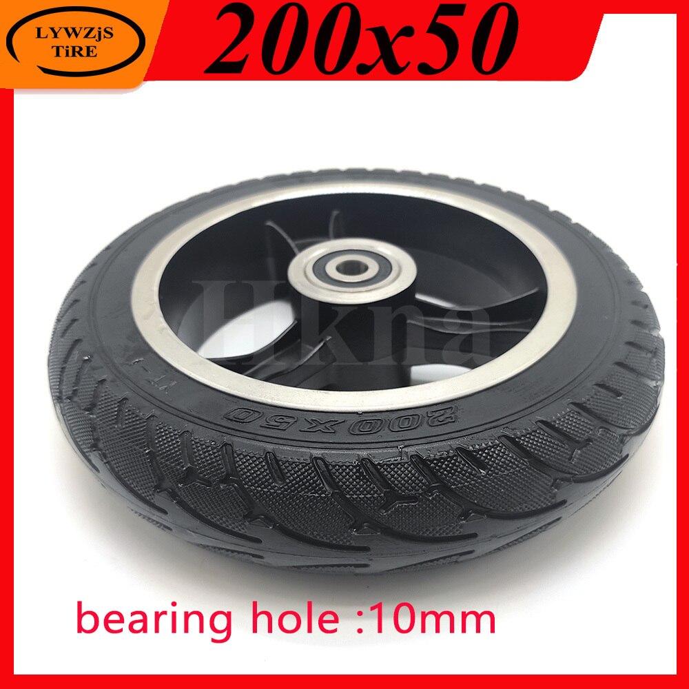 Neumático de rueda sólida de 200x50 de buena calidad, rueda sólida a...