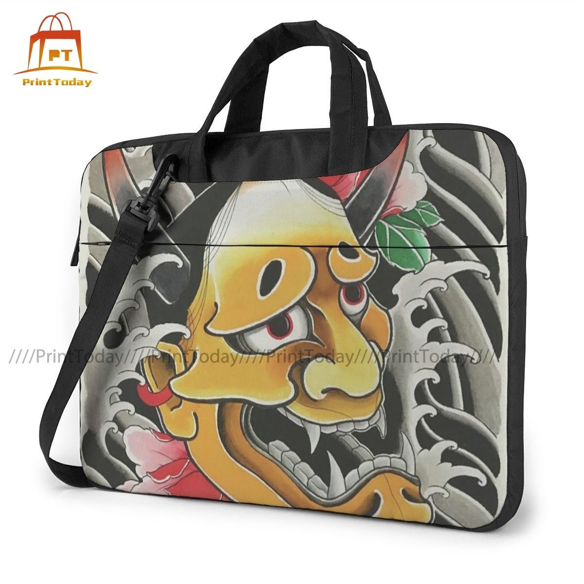 اليابانية هانا قناع حقيبة لابتوب الحال مع مقبض حقيبة حاسوب واقية أنيق travel mate المحمول الحقيبة