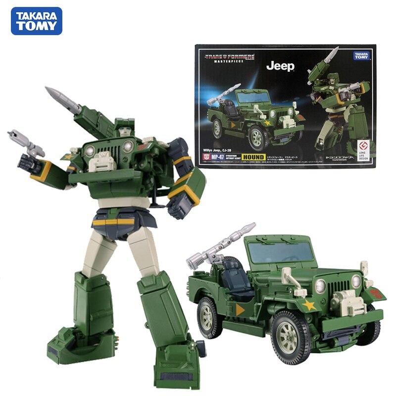 Takara Tomy Transformers Masterpieces Hound экшн фигурка Коллекционная модель игрушки MP-47