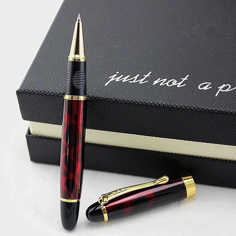 Высококачественная Роскошная металлическая шариковая ручка 0,5 мм, шариковые ручки для школы, офиса, caneta tinteiro, шариковая ручка