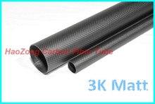 1.5mm Épaisseur 3K Fiber De Carbone Tube/Tuyau Enroulé OD8 15 16 18 19 20 22 25 28 30 32 33 35 38 40 50 60 mm x 1000mm BRICOLAGE Tige