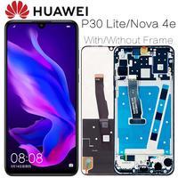 Оригинальный ЖК-дисплей 2312*1080 AAA с рамкой для HUAWEI P30 Lite, ЖК-дисплей, экран для HUAWEI P30 Lite, экран Nova 4e MAR-LX1 LX2 AL01