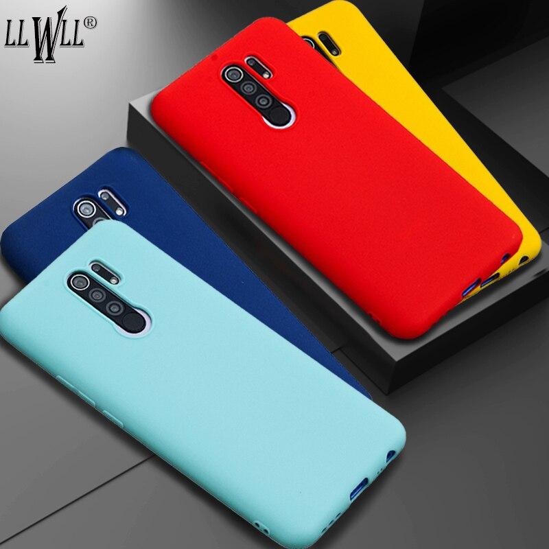 Candy Color Liquid Silicone Cover For Xiaomi Poco X3 nfc Case Pocophone F1 Case Slim Soft Back Cover
