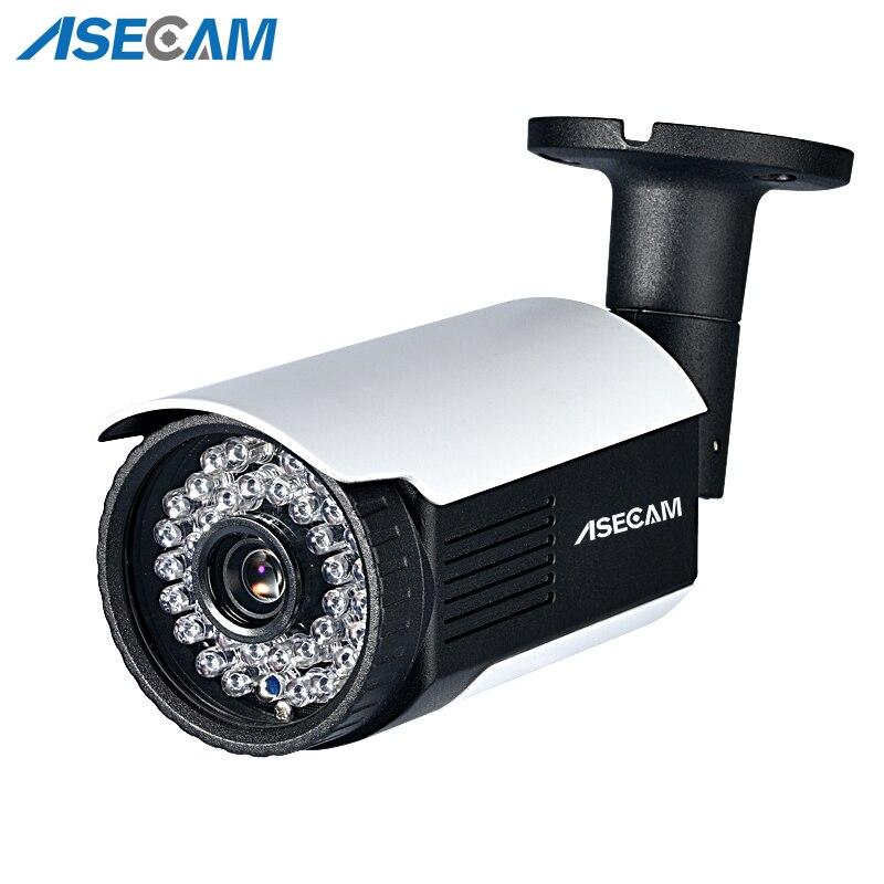 Nova hd 5mp h.265 câmera ip onvif metal bala à prova dwaterproof água cctv ao ar livre poe rede p2p e-mail alerta infravermelho câmera de segurança