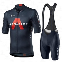 Cycling Jersey Set Men Team Clothing Ineos Grenadier 2021 Competizione Short Sleeve Suit Training Br