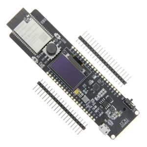 ESP32 Controller ESP32-WROVER 4MB SPI Flash And 8MB PSRAM 0.96OLED Five-Way Button 18650 Battery Holder