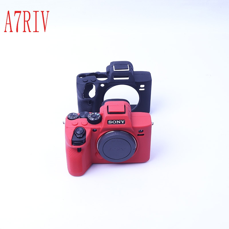 Bolsa suave para cámara, funda de silicona, funda de goma para cámara Sony A7RM4 A7R IV A7 IV A7 III A7R3 A7RM3 A9 ILCE-9