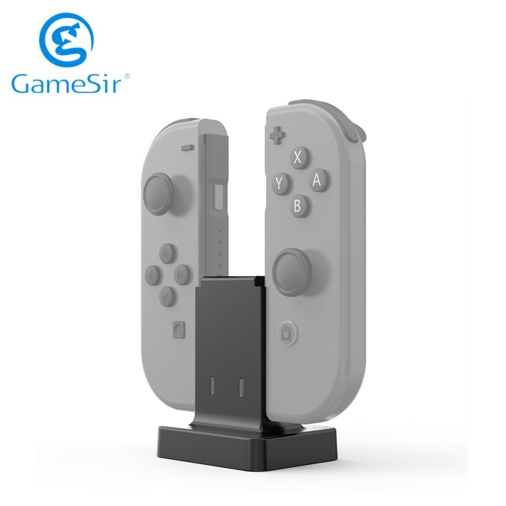 Estação de Carregamento Dock para Nintendo Gamesir Dupla Alegria Switch Joy-con Controlador Enw60s152 Con