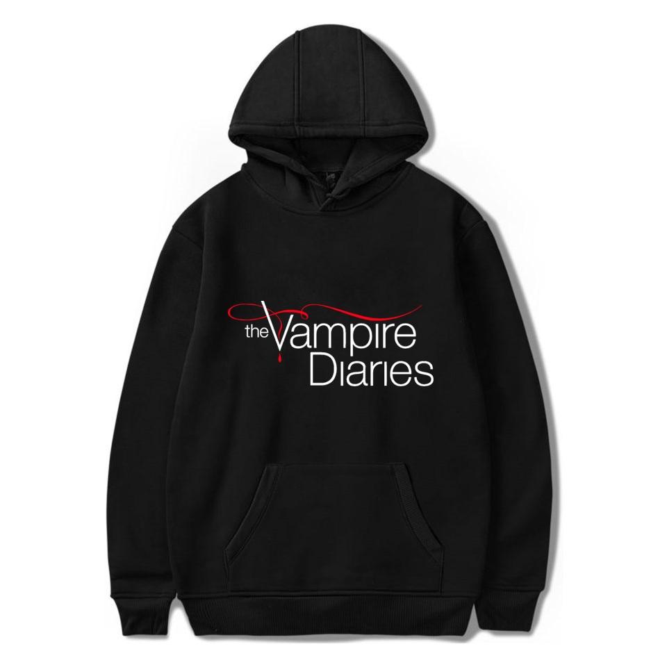The Vampire Diaries Hoodies women/mens Long Sleeve hodies Pullovers Sweatshirts hoodie Women Men Cas