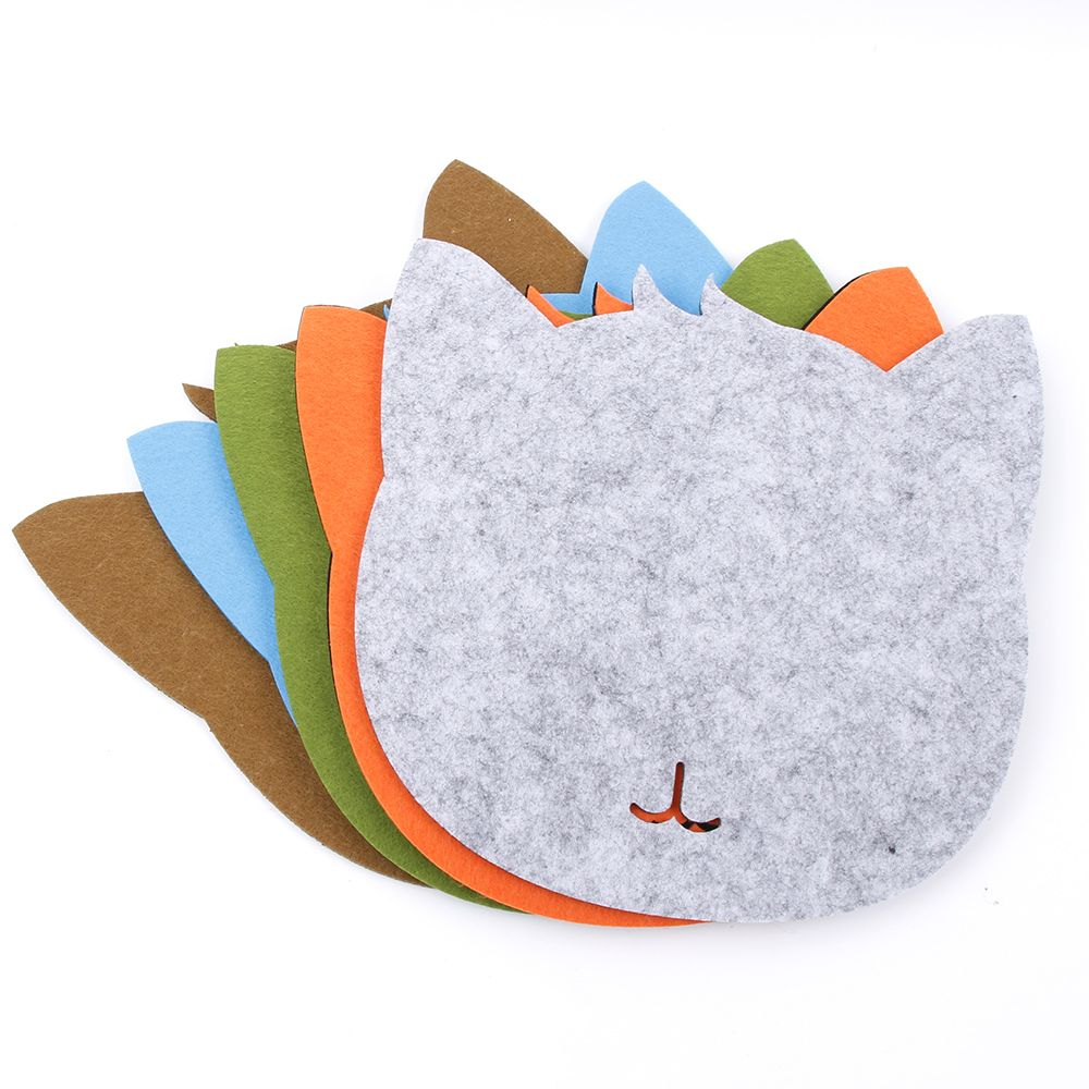 Anti-slip Soft Gaming Mouse Pad Keyboard Mat Laptop Computer PC Mice Mat Cartoon Pattern Cat For Home Office Mouse Accessories