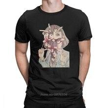 Mannen T-shirt Shintaro Kago Ito Nieuwigheid Tops Horror Japanse Manga Flying Lotus Tees O-hals T-shirt Katoen Plus Size T-shirt