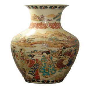Fine Old China Porcelain Painted Old Glaze Porcelain Vases Collectible China Porcelain Vases