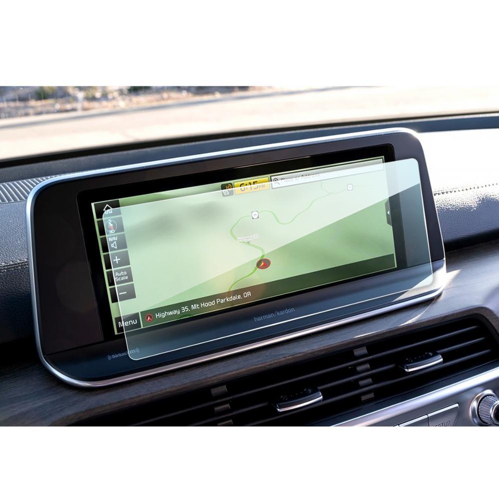 Lfopp para Telluride, 10,25 pulgadas, 2020 pulgadas, pantalla de Radio Multimedia para coche, película protectora de pantalla, pegatina protectora Interior automática