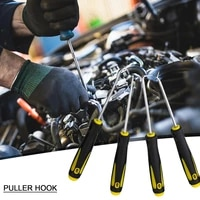 4pcs oil seal screwdrive auto vehicle oil seal screwdrivers set o ring seal gasket puller remover pick hooks tools repair tools