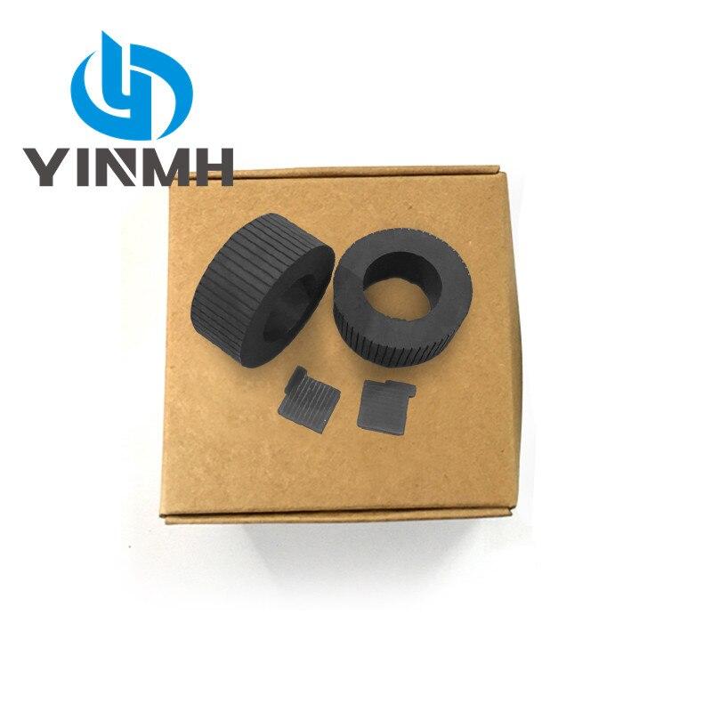2 Sets Pickup Roller Pad Kits for Fujitsu fi-4530C fi-5530C fi-5530C2 fi-5530 4530C 5530C 5530C2 5530 PA03334-0001 PA03334-0002