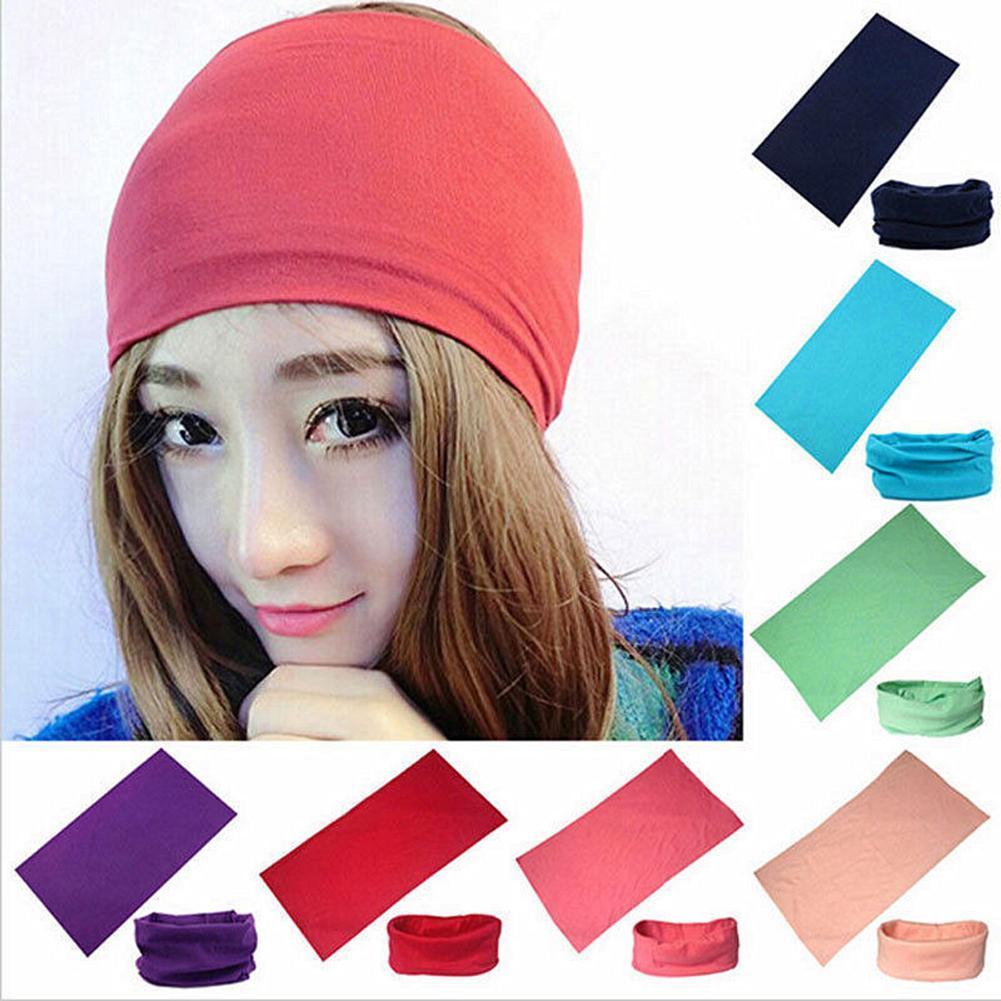 Женский однотонный головной убор для велоспорта, головной платок, бандана, шарф, головной убор, Теплый головной убор для велоспорта, головно...