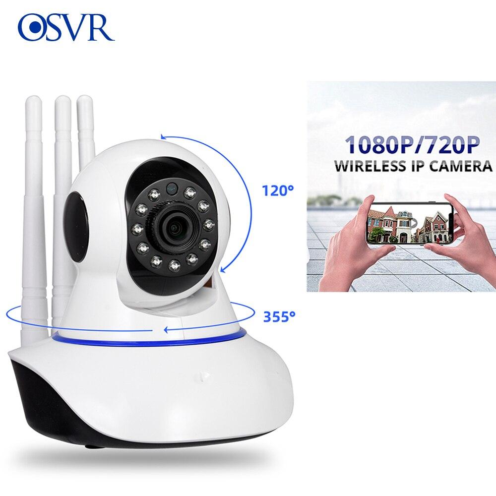 Cámara de seguridad para el hogar OSVR HD 720P 1080P, cámara IP inalámbrica de vigilancia, cámara CCTV con visión nocturna Wifi, Monitor para bebés de 2mp