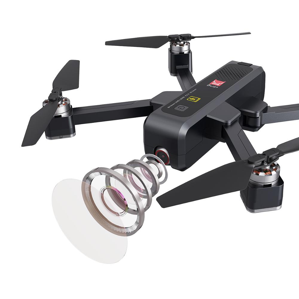 1600M sin escobillas RC Drone con cámara 4K HD Anti-shake WIFI FPV plegable Quadcopter de posicionamiento de flujo óptico GPS Drone