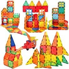 Grande taille tuile magnétique constructeur concepteur aimant blocs de Construction briques modèle avec ensemble de Construction magnétique jouets pour enfants